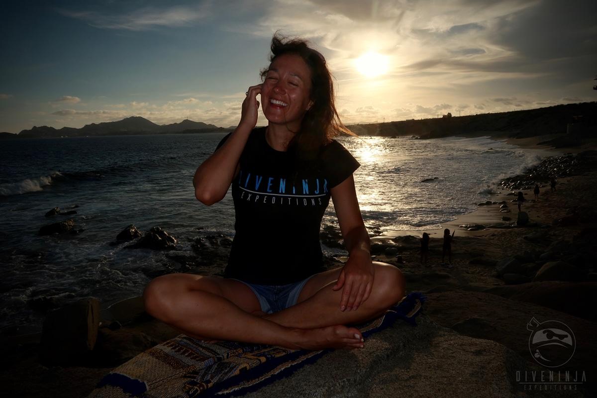 Sunset Cabo San Lucas Dive Ninjas