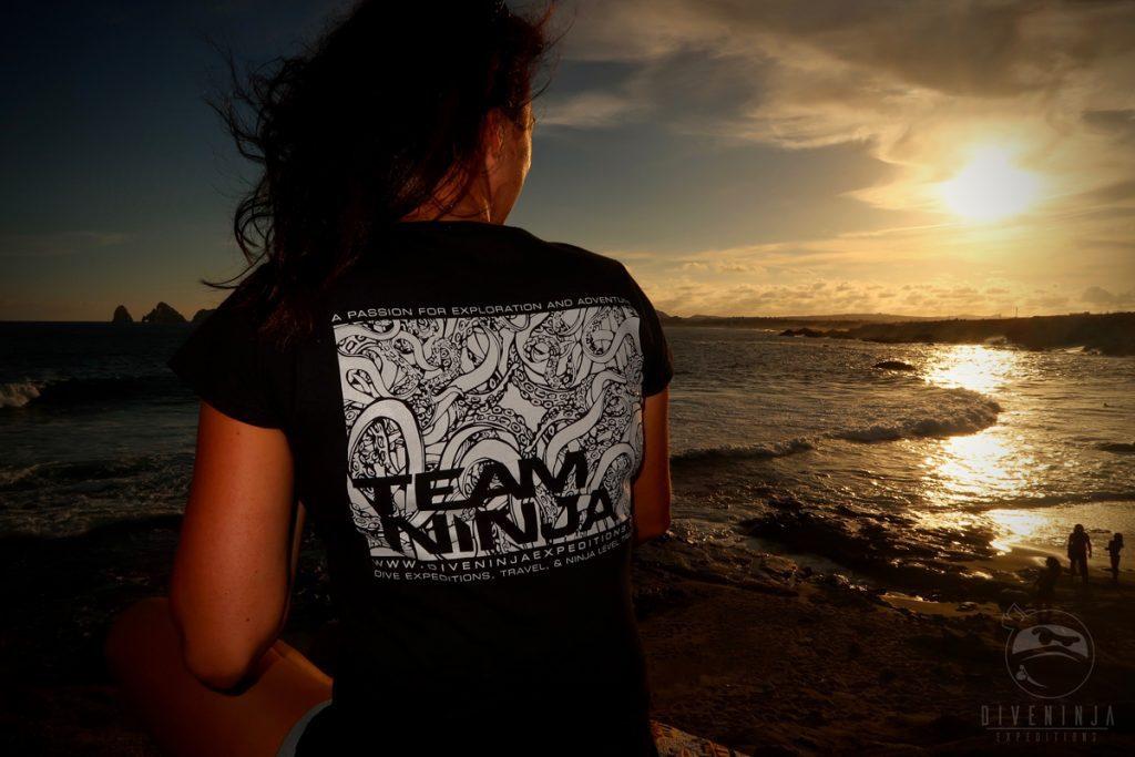 Dive Ninjas Cabo San Lucas, Team Ninja T-Shirt