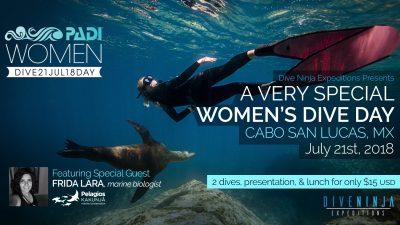 PADI Women's Dive Day 2018 Cabo San Lucas, Mexico