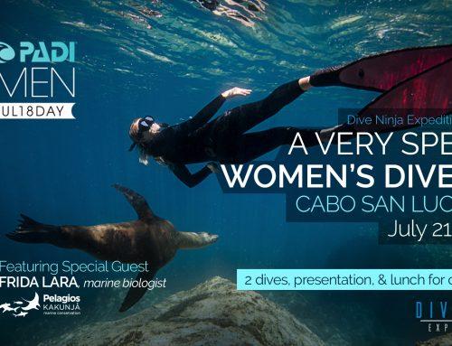 PADI Women's Dive Day 2018 Cabo San Lucas