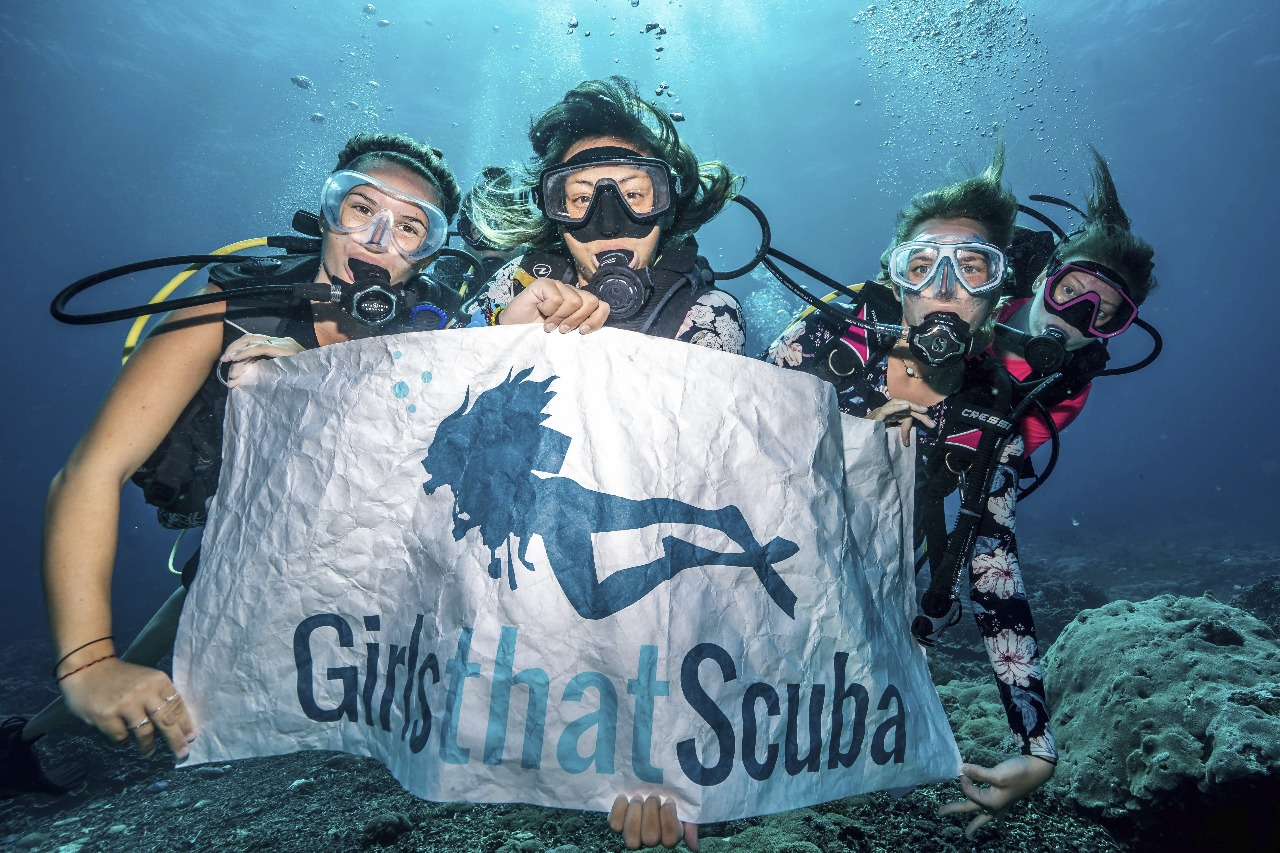 Girls That Scuba Dive day in Cabo San Lucas Mexico