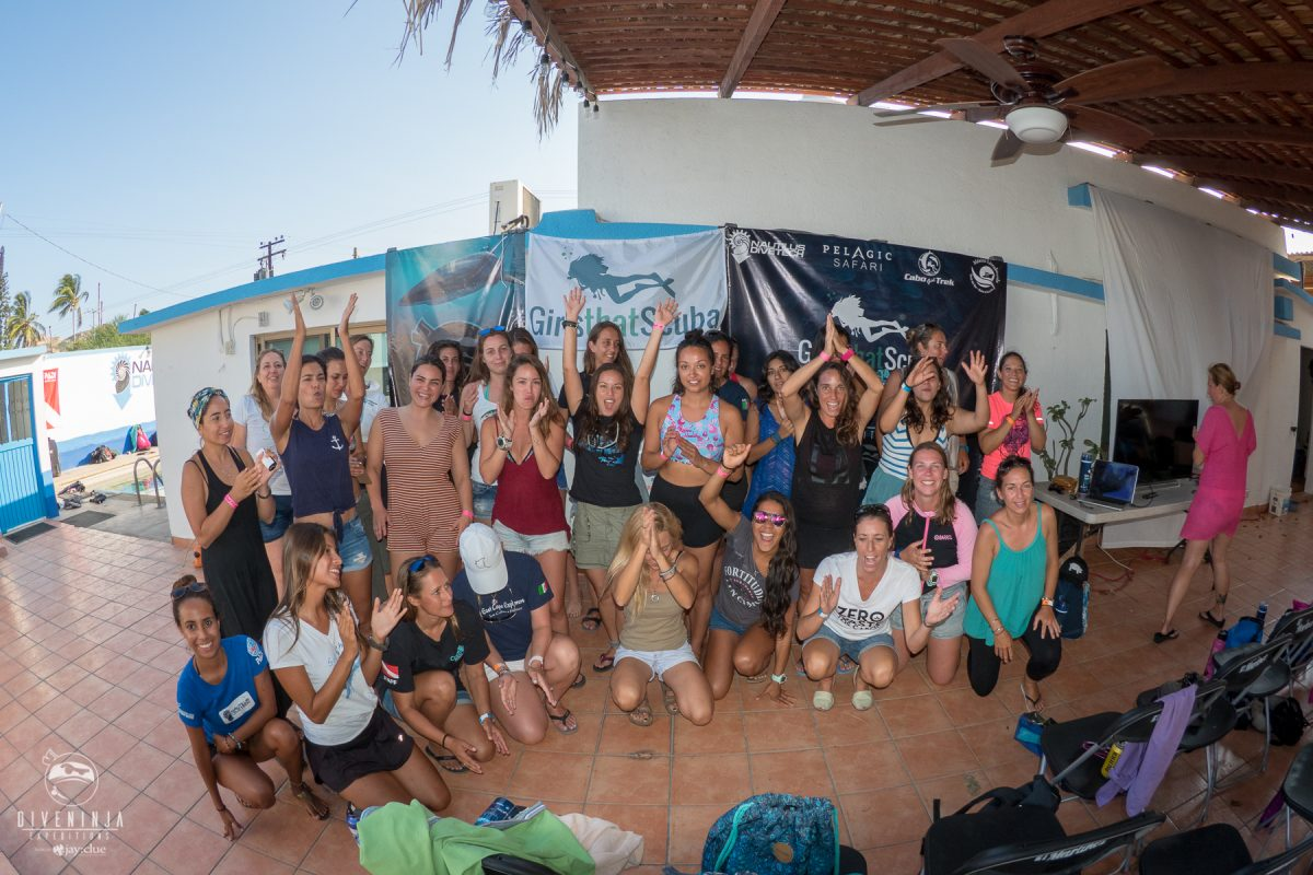 Girls That Scuba Day with Dive Ninja Expeditions in Cabo San Lucas