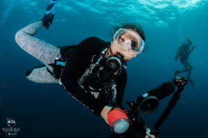 Diving in Xcalak Mexico with Dive Ninja Expeditions & Girls That Scuba
