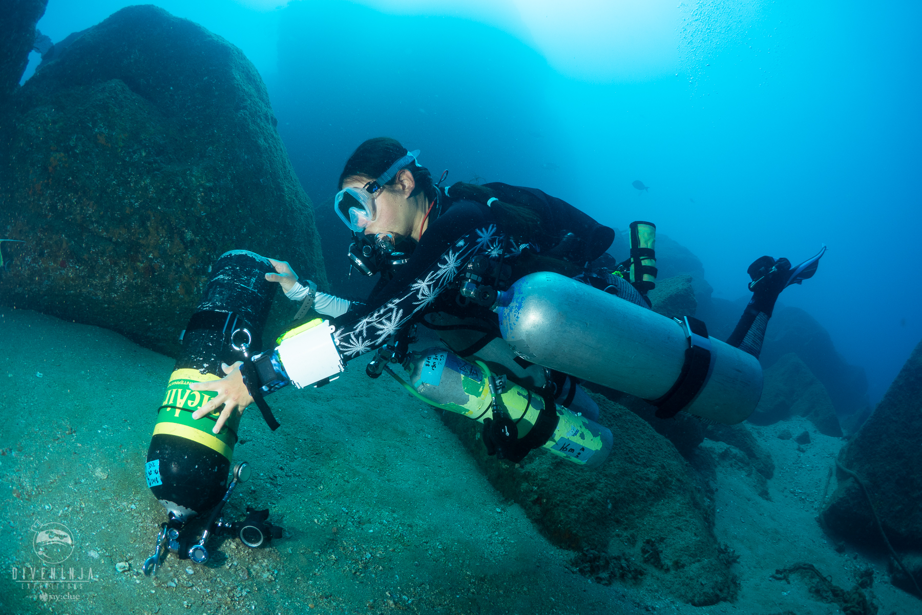 PADI Tec Trimix - Technical Diving courses and training in Cabo San Lucas Mexico