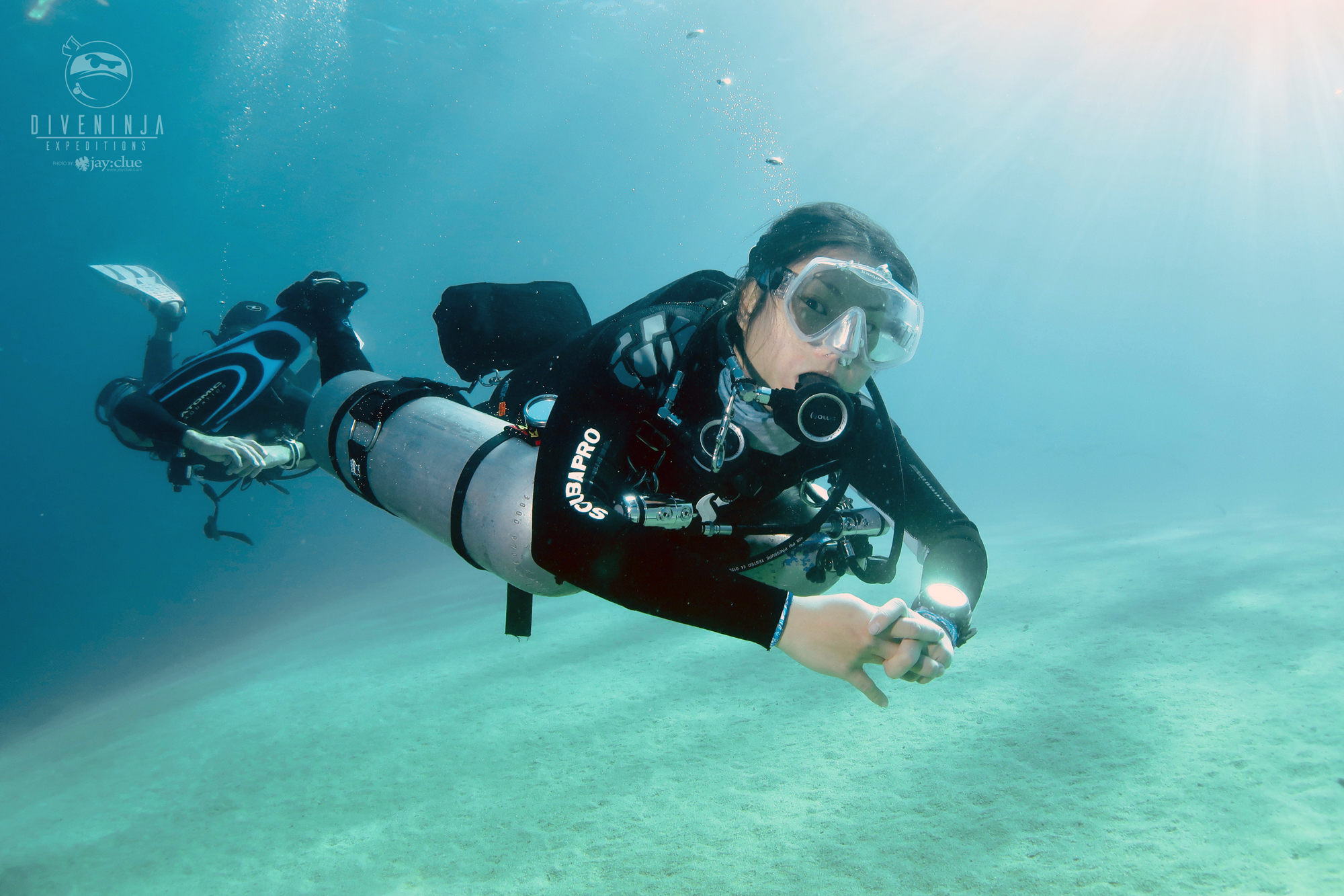 Sidemount diver course in Los Cabos Mexico
