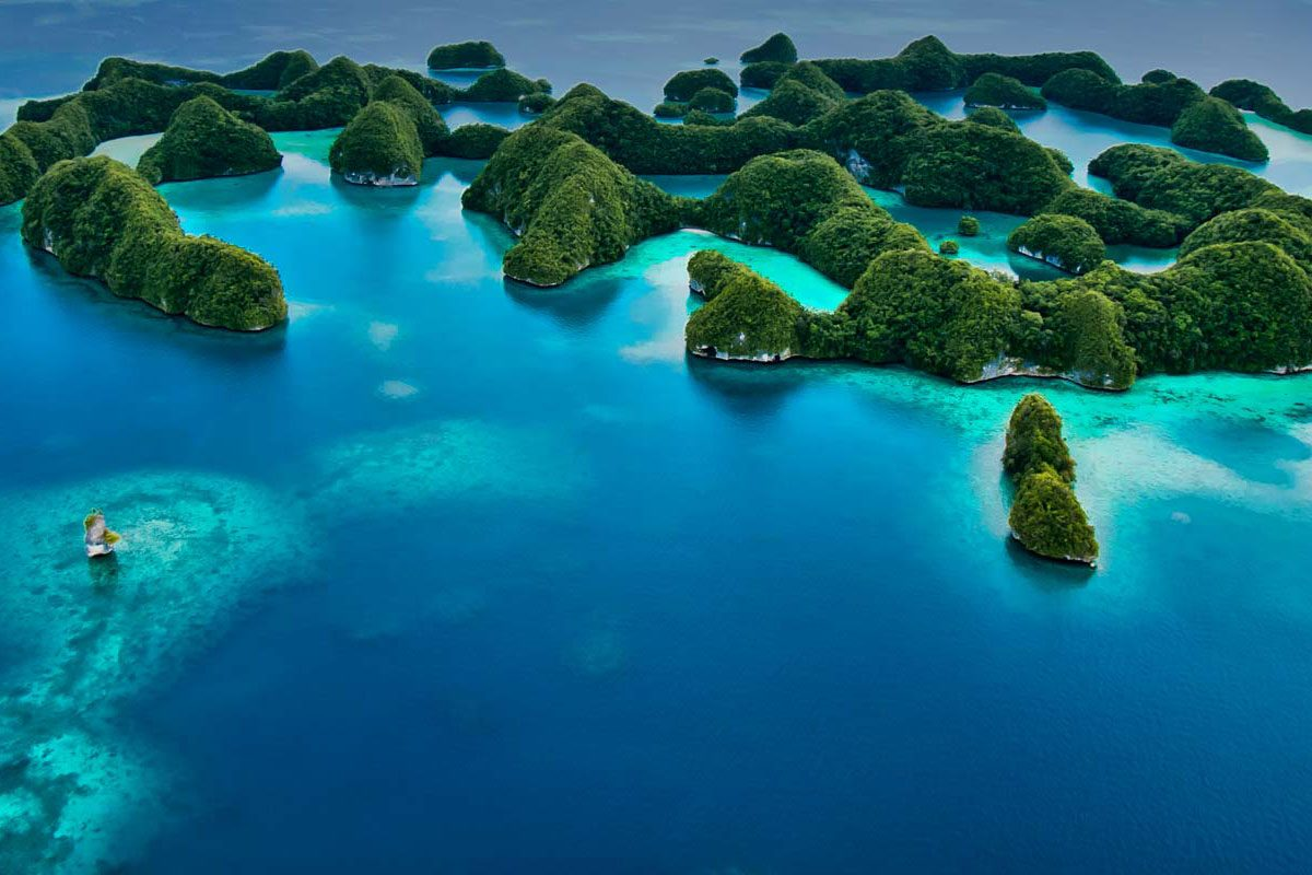 Palau diving liveaboard destination