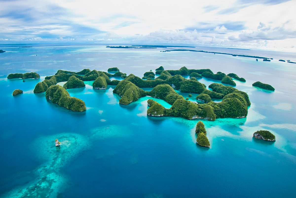 Scuba diving in Palau's Rock Islands
