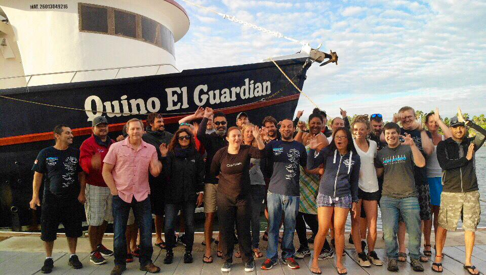 Dive Ninjas Socorro shark research trip 2019 with Dr Mauricio Hoyos & Pete Rodriguez Arana