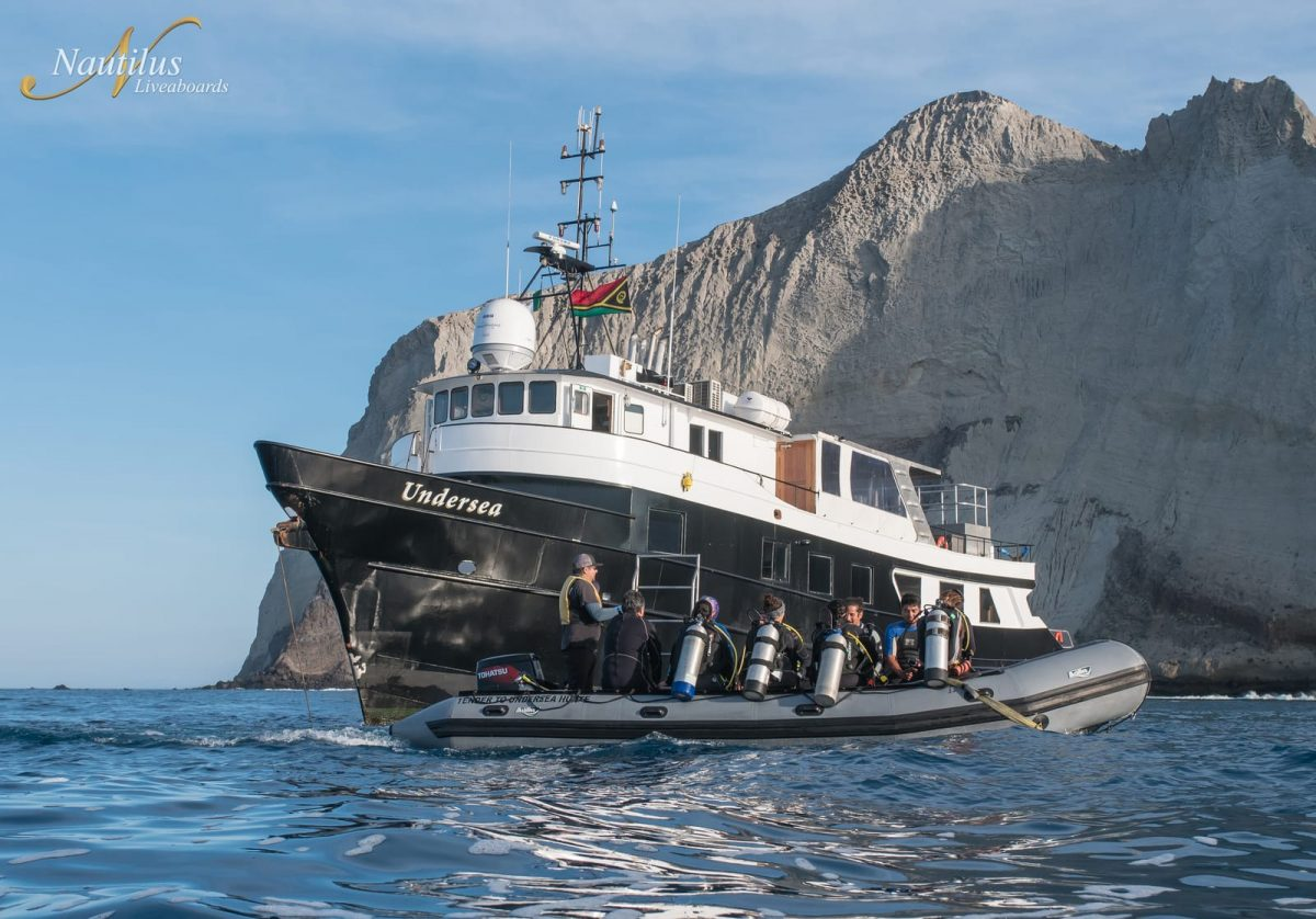 Nautilus Undersea liveaboard Socorro