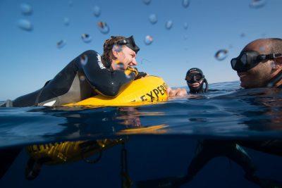Freedive in Cabo San Lucas Mexico