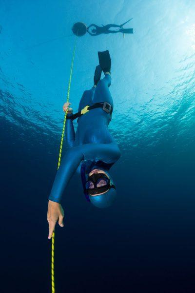 PADI & SSI Freediving training in Mexico