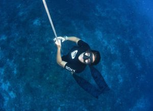 Lucrecia Fabre, Freediving Instructor and founder of Amancay Freediving