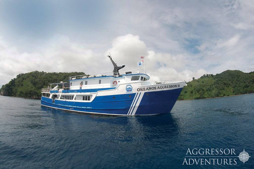 Okeanos II Cocos Island liveaboard