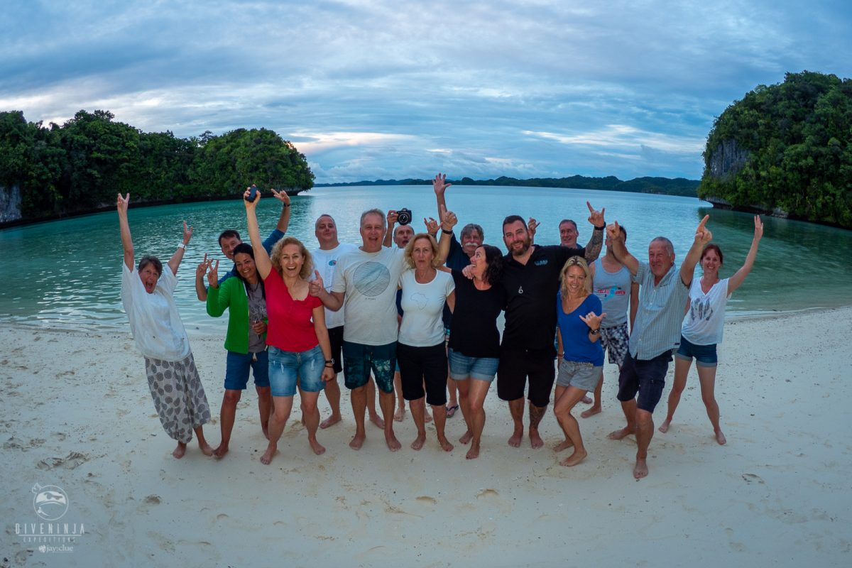 Dive Ninja Expeditions scuba diving trip to Palau