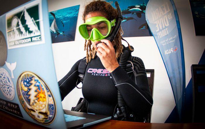 Scuba Dive In Dive Ninjas Office In Cabo San Lucas