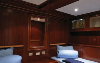 Twin Cabin Blue Melody Liveaboard