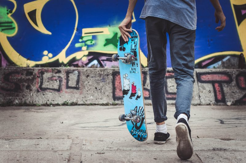 Skateboards - essential for sk8ers, and more dangerous than sharks