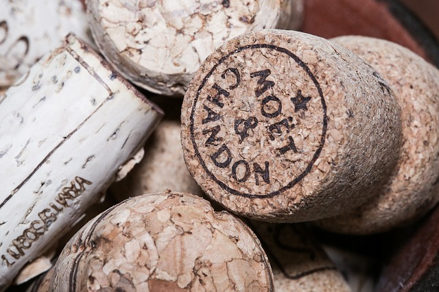 Celebratory champagne corks - cause more fatalities a year than sharks