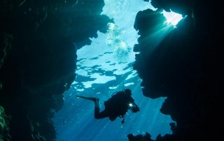 Diving in Caverns in Red Sea with Dive Ninjas