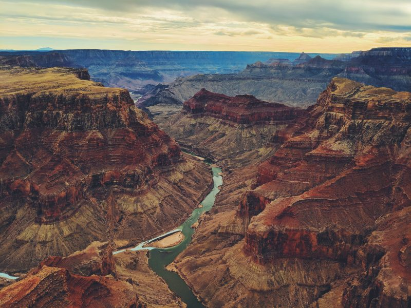 The Grand Canyon - majestic, and riskier than swimming with sharks