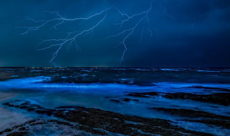 Lightning - beautiful, awe inspiring, and more dangerous than sharks