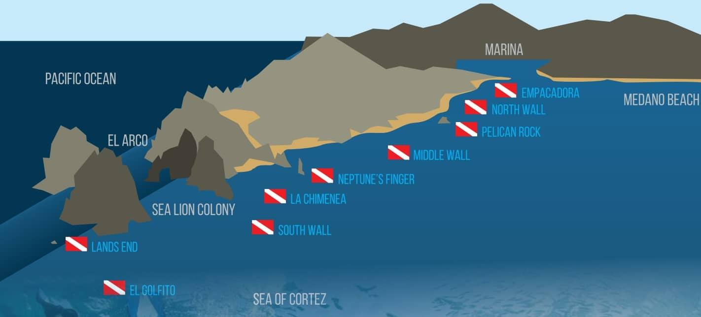 Cabo dive sites