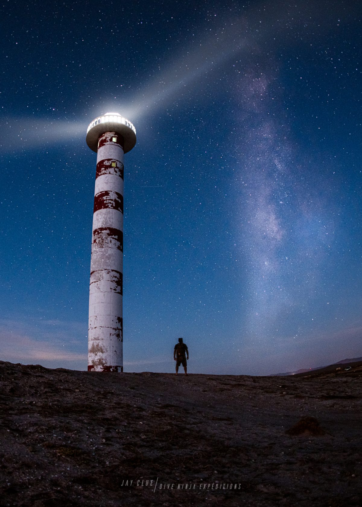 Above & Below Photo workshops in Baja California Sur, Astrophotography by Jay Clue
